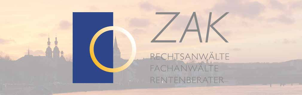 Anwaltskanzlei Zakrzewski | Turowski | Ilhan | Leberig & Kollegen | Rechtsanwälte | Fachanwälte | Rentenberater in Koblenz Logo